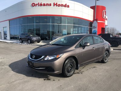 2013 Honda Civic LX ,HEATED SEATS, BLUETOOTH