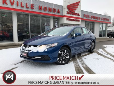 2014 Honda Civic Sedan EX* $56.35 WEEKLY!!! SUNROOF! BLUETOOTH! A/C*AUTO!