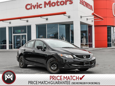 2014 Honda Civic Sedan EX - BLIND SPOT CAMERA, HEATED SEATS, SUNROOF