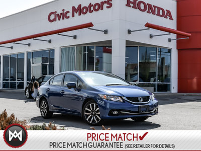 Honda Civic Sedan TOURING - NAVIGATION, HEATED SEATS, BLUETOOTH 2014