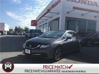 2015 Honda Civic Sedan EX - SUNROOF, ALLOYS, HEATED SEATS