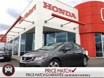 Honda Civic Sedan LX - HEATED SEATS, BACK UP CAMERA, BLUETOOTH 2015