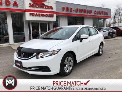 Honda Civic Sedan LX*WARRANTY! $58.29WEEKLY! BLUETOOTH! BACKUP CAM! 2015