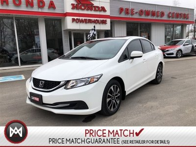 2015 Honda Civic Sedan EX* SUNROOF! HEATED SEATS! BACK UP CAM! BLUETOOTH!