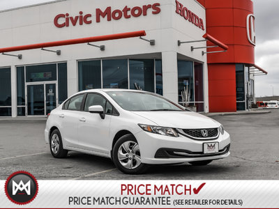 Honda Civic Sedan LX - BACK UP CAMERA, HEATED SEATS, BLUETOOTH 2015