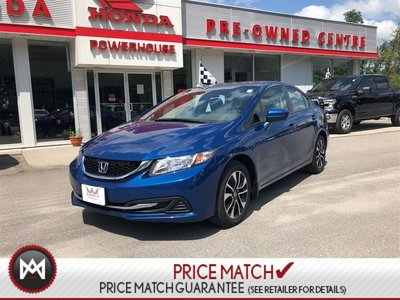 Honda Civic Sedan EX- SUNROOF! ALLOY RIMS! BLUETOOTH! BACKUP CAM! 2015