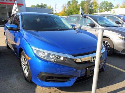 2016 Honda Civic Sedan LX-LIKE NEW! BLUETOOTH! BACK UP CAMERA! CRUISE!6SP