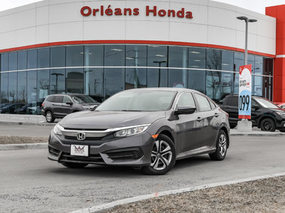 Honda Civic LX APPLE CAR PLAY HEATED SEATS 2016