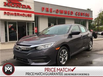 Honda Civic Sedan DX! NEW!***ZERO DOWN! $59.47 WEEKLY! 2017