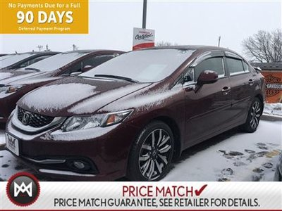 2013 Honda Civic TOURING ,LEATHER INTERIOR, HEATED SEATS, AND MORE.