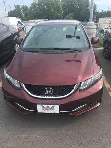 Honda Civic EX,SUNROOF,HEATED SEATS,BACK UP CAMERA 2013