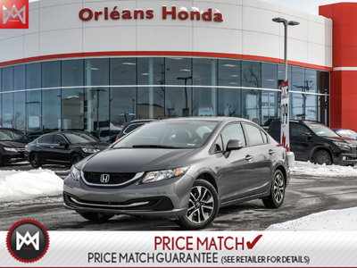 2013 Honda Civic EX,SUNROOF,HEATED SEATS, BACK UP CAMERA