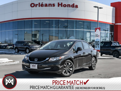 2013 Honda Civic EX, HEATED SEATS, BACK UP CAMERA,SUNROOF