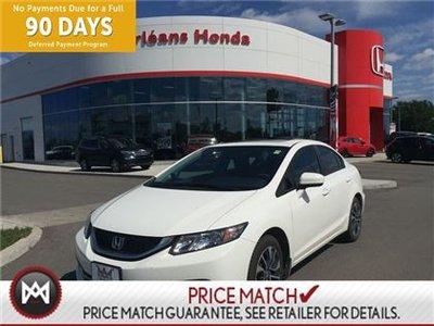 Honda Civic EX,SUNROOF,HEATED SEATS,BLUETOOTH 2014
