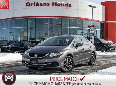 2014 Honda Civic EX,SUNROOF.HEATED SEATS, BACK UP CAMERA,BLUETOOTH