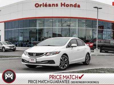 2014 Honda Civic EX, MANUAL,HEATED SEATS,SUNROOF,KEYLESS ENTRY