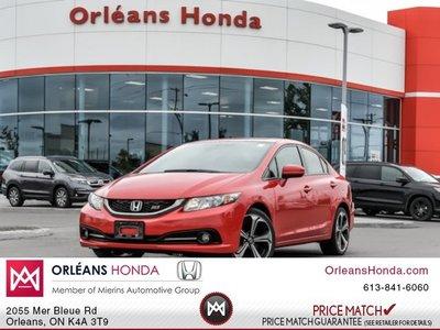 2014 Honda Civic Si -Loaded - ONE Owner