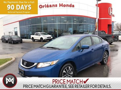 Honda Civic EX, BLUETOOTH,HEATED SEATS, SUNROOF,BACK UP CAMERA 2015