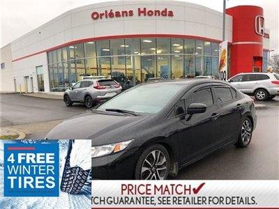 2015 Honda Civic EX,SUNROOF,HEATED SEATS,BLUETOOTH