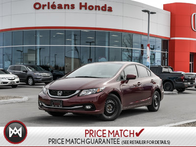 Honda Civic TOURING, NAVI,HEATED SEATS,SUNROOF 2015