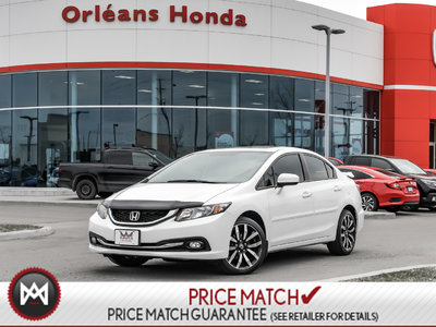 Honda Civic TOURING, SUNROOF, NAVI, LEATHER 2015