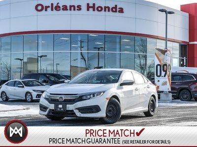 2016 Honda Civic LX- Auto Honda Plus Warranty TO 100,000KMS