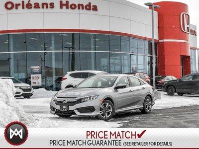 2017 Honda Civic LX- Heated Seats Apple Carplay