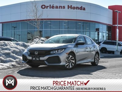 2017 Honda Civic LX- Auto Hatchback One Owner