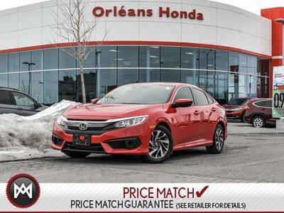 2017 Honda Civic EX-Auto Honda Warranty TO 2021 OR 100000 KMS
