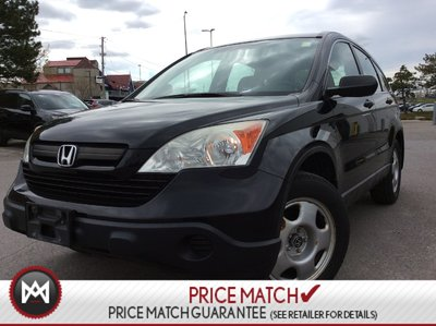 2009 Honda CR-V LX  LOW KMS  AUX  ADJUSTABLE ARMRESTS  AWD