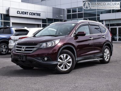 2013 Honda CR-V Touring, Nav, Leather, Sunroof