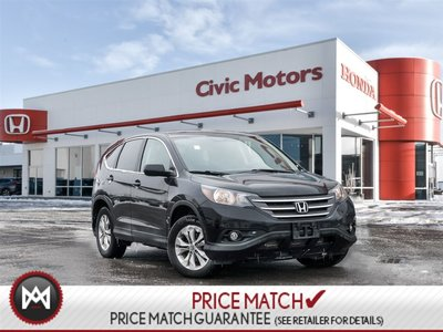 2014 Honda CR-V EX-L - 7YR/130,000 KMS HONDA WARRANTY, LEATHER