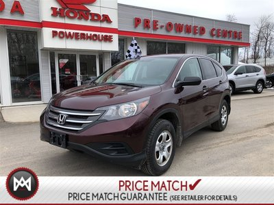 2014 Honda CR-V LX *WARRANTY! $68.01 WEEKLY! ECON*AUTO! BLUETOOTH!