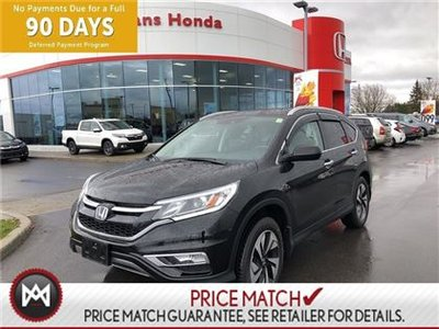 Honda CR-V TOURING, POWER HEATED LEATHER SEATS, NAVIGATION, 2015