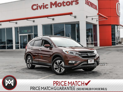 2015 Honda CR-V TOURING - NAVIGATION, HEATED SEATS, BACK UP CAMERA