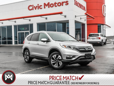 2015 Honda CR-V TOURING - AWD, NAVIGATION, HEATED SEATS