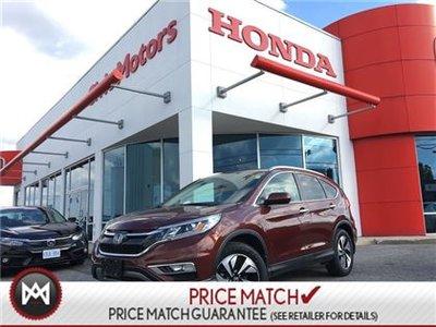 Honda CR-V TOURING - 4YR/100,000 KMS HONDA WARRANTY, NAVI 2016