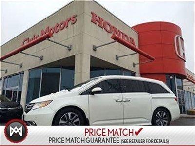 2015 Honda Odyssey TOURING - NAVI, LEATHER, HEATED SEATS