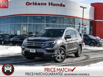 2016 Honda Pilot EX-L/NAVI,LEATHER INTERIOR,POWERED SEATS,POWER