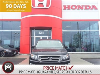 2013 Honda Ridgeline 4WD TOURING, LEATHER,SUNROOF,