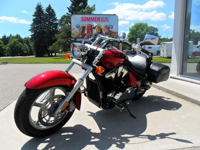 2011 Honda VT1300CRA $48.62 WEEKLY PAYMENT. STATELINE. ONLY 2282KM's!!!