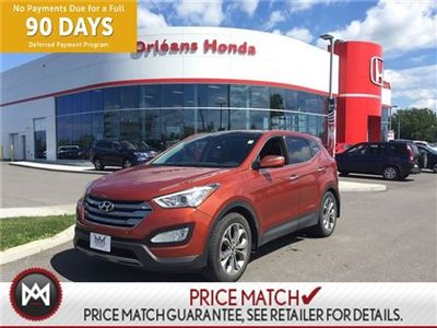 2013 Hyundai Santa Fe Sport 2.0 Turbo , LEATHER INTERIOR, SUNROOF,HEATED SEATS