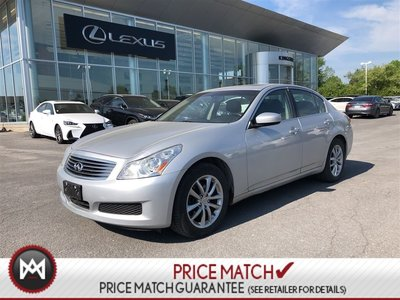 2009 Infiniti G37 Sedan AWD - LOW KM - MINT - NO ACCIDENTS