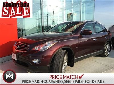 2014 Infiniti QX50 LUXURY AWD,LEATHER,SUNROOF HEATED SEATS
