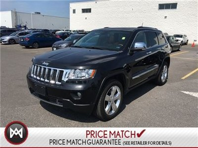 Jeep Grand Cherokee OVERLAND - NAVIGATION, LEATHER, SUNROOF 2013