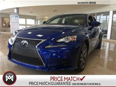 2016 Lexus IS 300 AWD SERIES 3 F SPORT PACKAGE!