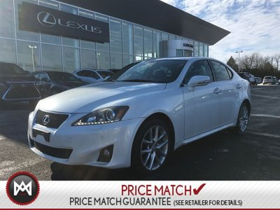 2011 Lexus IS 350 AWD LUXURY NAVIGATION PACKAGE LOW KM'S!