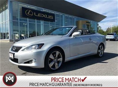 2012 Lexus IS250C IS250C CONVERTABLE WITH NAVIGATION PACKAGE