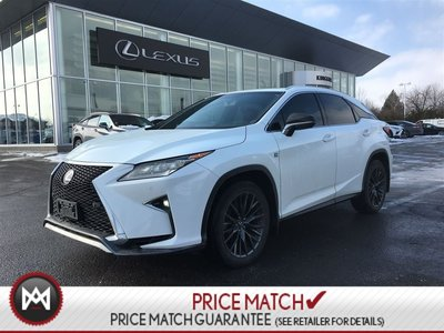 Pre Owned 2016 Lexus Rx 350 F Sport Red Interior Lexus Certified In Kingston Used