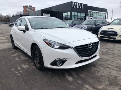 2014 Mazda Mazda3 Sport GT NAV CAMERA LEATHER WHITE 2 SET OF WHEELS